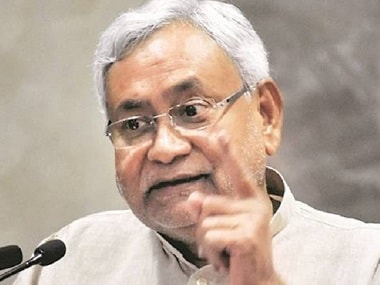 File image of Nitish Kumar. News18