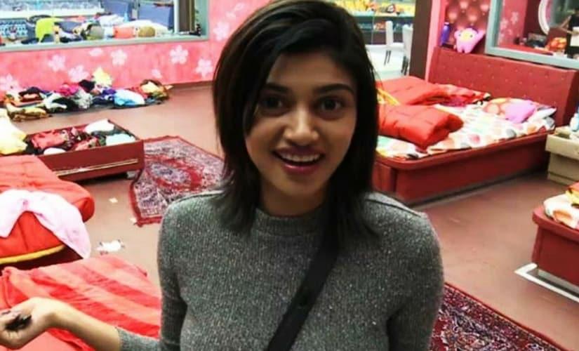 Oviya Helen in Bigg Boss Tamil/Image from YouTube.