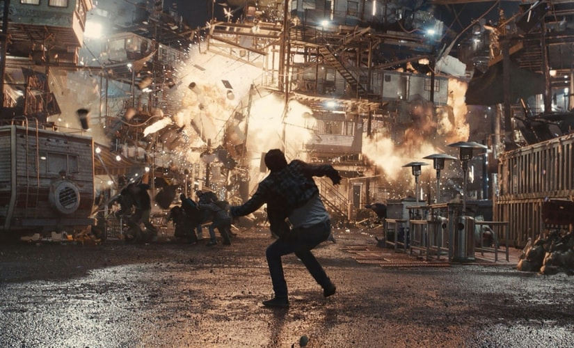 A still from Ready player One/Image from Twitter.