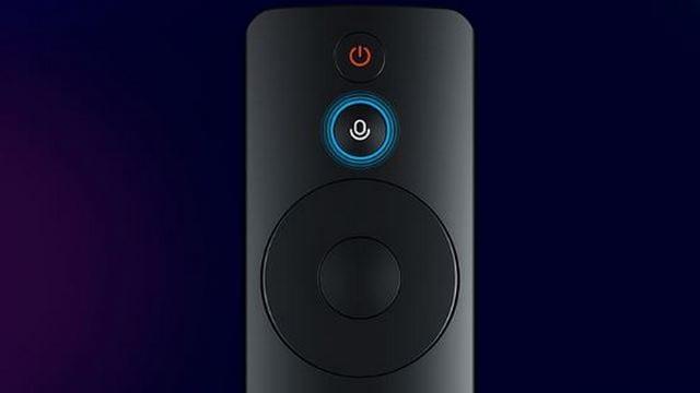 Xiaomi Mi TV 4A remote. Image: Xiaomi