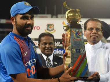 Nidahas Trophy 2018: Rohit Sharma's move to save Dinesh Karthik for the end has enhanced his captaincy credentials