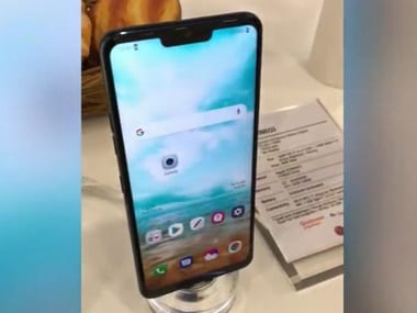 LG G7 (Neo) spotted in a hands-on video at MWC 2018 could be the next flagship