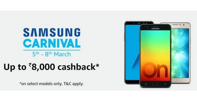 Samsung Carnival is on till 8 March on Amazon