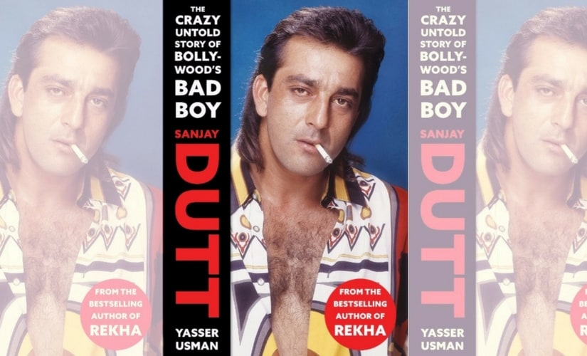 The cover of Sanjay Dutt: The Crazy Untold Story of Bollywood's Bad Boy/Image from Twitter.