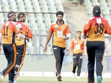 Shivam Dubey starred for Shivaji Park Lions as he took his first fifer in the inaugral T20 Mumbai League against Triumph Knights. T20 Mumbai League website