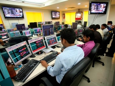 Sensex falls 200 points. Reuters image.