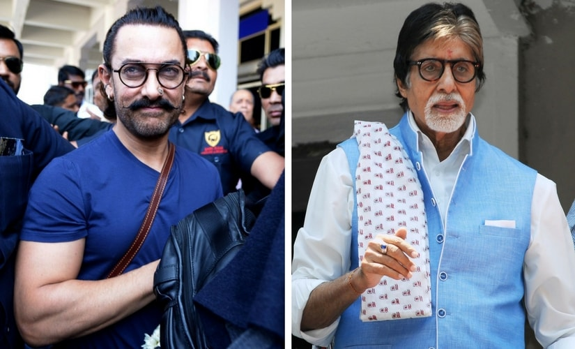 Aamir Khan and Amitabh Bachchan/Image from Twitter.