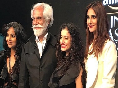 Vaani Kapoor channels Bond girl vibe for designers Gauri and Nainika in 007-themed show at Amazon India Fashion Week