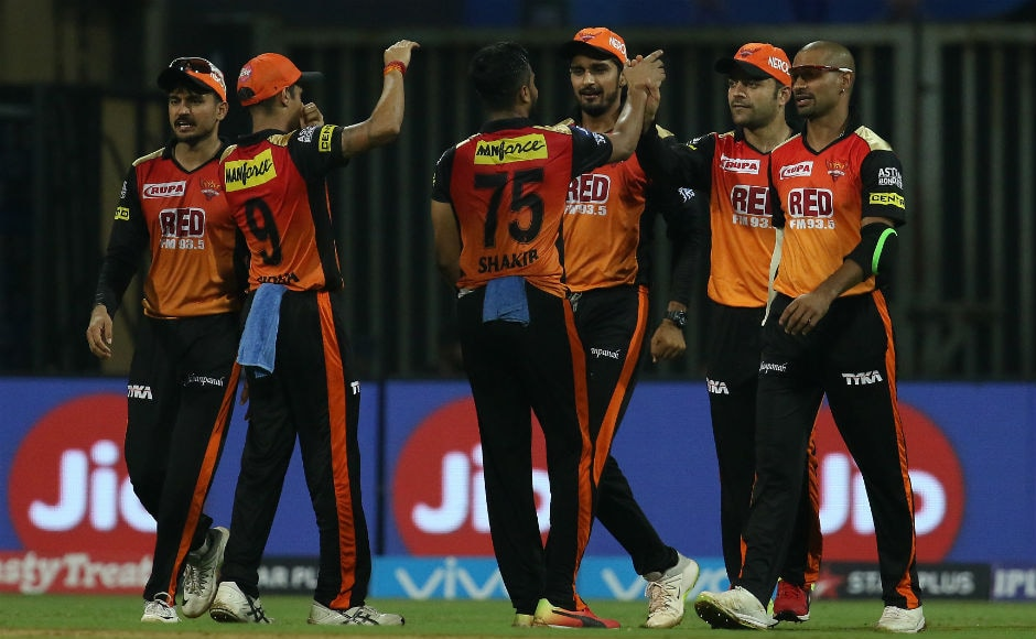 With this win, Sunrisers Hyderabad are now third in the points table. Sportzpics