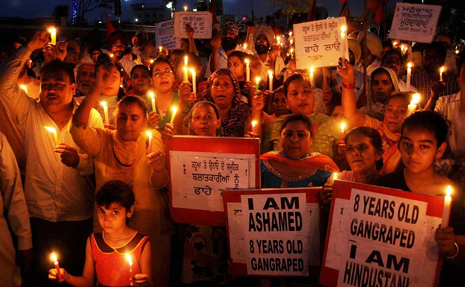 Protests held across India demanding justice for Unnao, Kathua rape victims