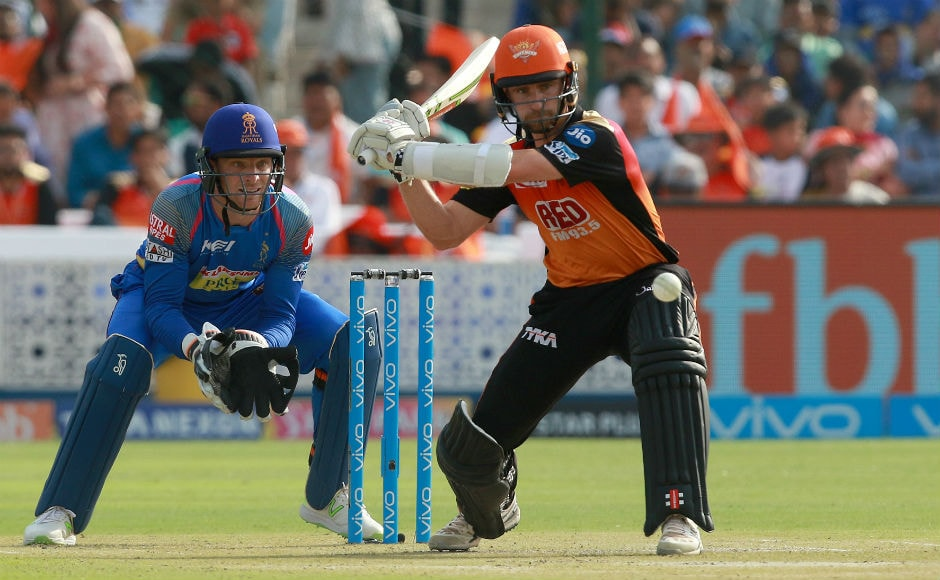 Sunrisers Hyderabad captain Kane Williamson came to crease early because of Shikhar Dhawan's dismissal and he, once again, helped his team post a decent total. He scored 63 runs off 43 balls. Sportzpics