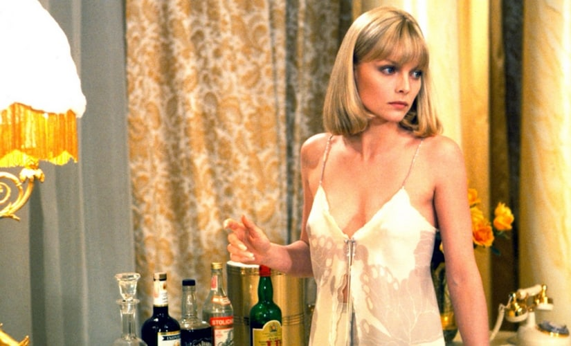 Michelle Pfeiffer in Scarface/Image from Twitter.