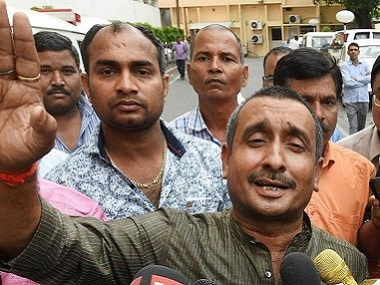File image of Bharatiya Janata Party MLA from Unnao Kuldeep Singh Sengar. PTI