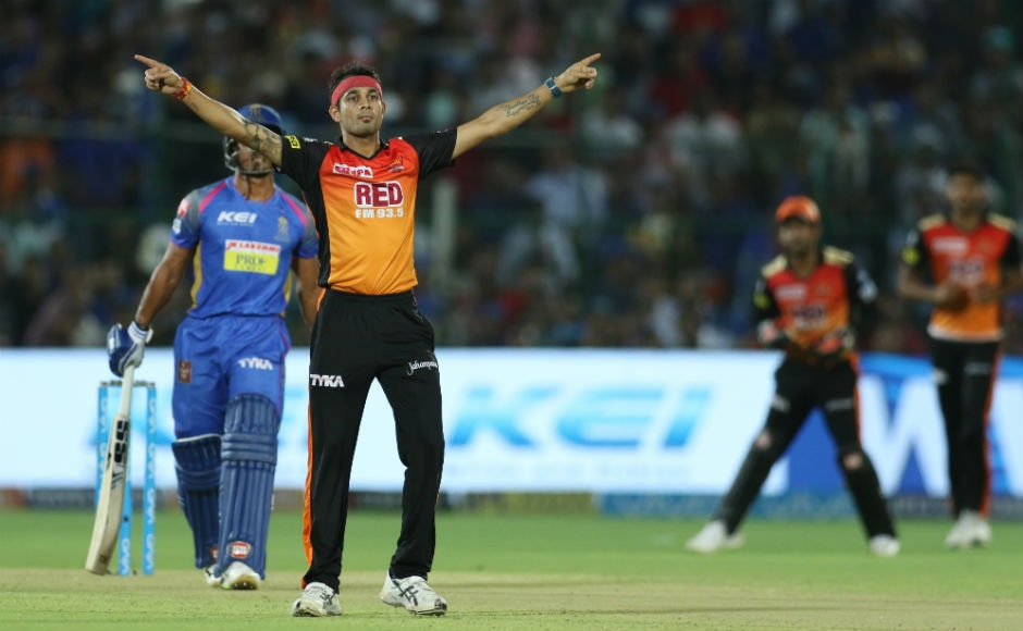 Siddarth Kaul continued his good form in the IPL as he gave away just 23 runs in four overs, taking two wickets. At the end, Ajinkya Rahane remained unbeaten on 65, but he couldn't take his team home. Sportzpics