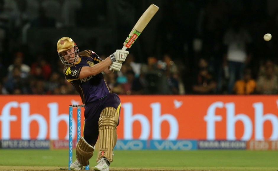 In the other match on Sunday, Kolkata Knight Riders gained the winning momentum back as they beat Royal Challengers Bangalore by six wickets. Chris Lynn, rather strangely, played a composed innings, remaining unbeaten on 62 from 52 balls and helping his team to victory. Sportzpics