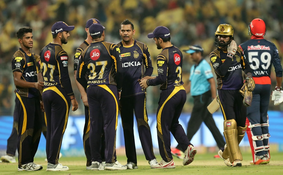 Kolkata Knight Riders made a statement of intent on Monday with both bat and ball, scoring 200 runs batting first and then bowling out Delhi Daredevils for a mere 129 to register second win of the tournament. Sportzpics