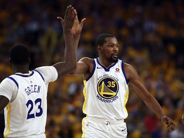 File image of Golden State Warriors' Kevin Durant. AP