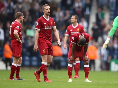 Premier League: Jurgen Klopp blames 'dry' pitch for Liverpool squandering two-goal lead in West Brom draw
