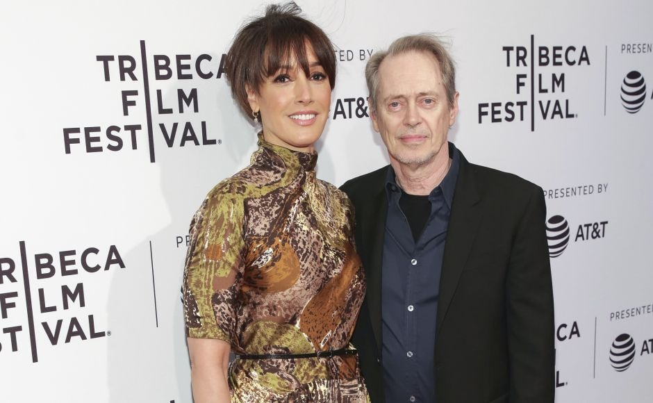 Actors Jennifer Beals (L) and Steve Buscemi attend a screening of <em>In the Soup</em> at the SVA Theatre during the 2018 Tribeca Film Festival in New York. Photo by Brent N. Clarke/Invision/AP