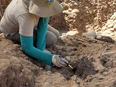 Archaeologists in Peru find remains of over 140 youngsters, claim it is site of worlds biggest child sacrifice