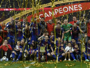 Copa del Rey: Andres Iniesta shines as Barcelona batter Sevilla 5-0 to clinch fourth straight title