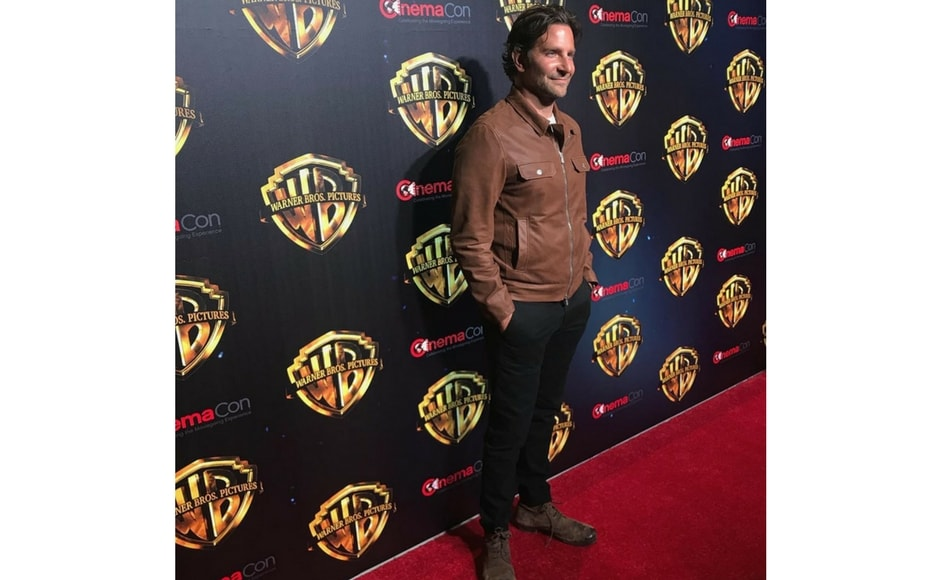 Bradley Cooper attending CinemaCon 2018/Image from Instagram @wbpictures.