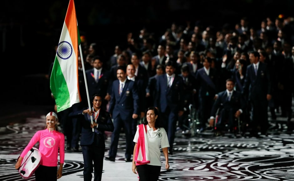 The Commonwealth Games is set to begin on 5 April. On Wednesday, the opening ceremony was held in front of a vociferous audience at Carrara Stadium. The Indian contingent was led by ace shuttler PV Sindhu. AFP