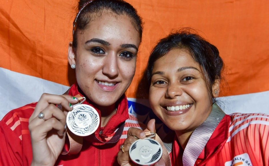Continuing fromtheir team sojourn where they won the gold medal, Mouma Das and Manika Batra claimed the silver in the women's doubles event. PTI