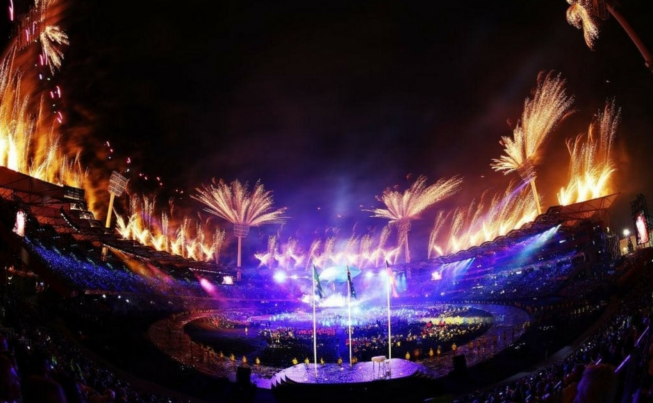 The Opening ceremony was widely considered to be a success in accordance with its content, theme and execution. Image Courtesy: Twitter @GC2018