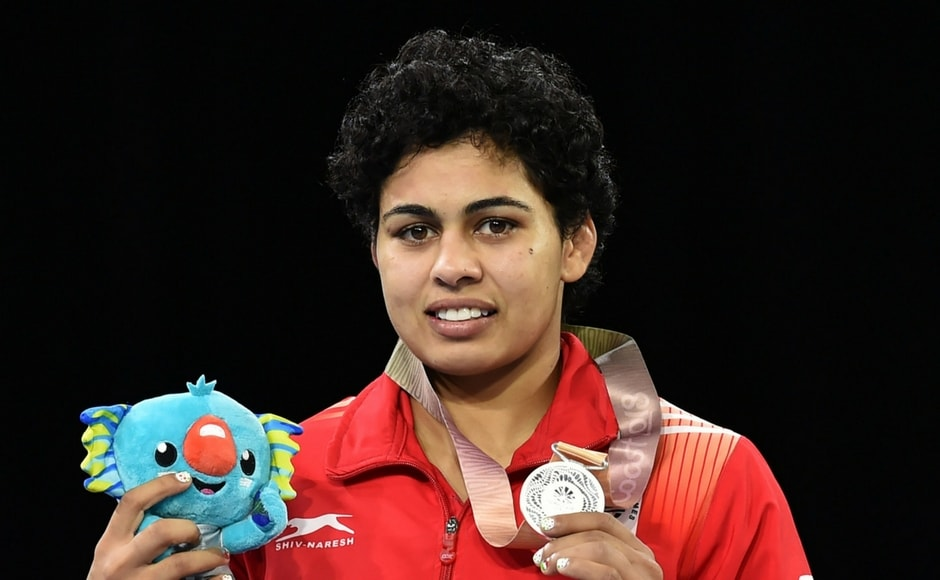 India's Pooja Dhanda won the silver in women's freestyle 57 kg wrestling event. This was India's second silver in the event after Babita Kumari's silver on Thursday. PTI