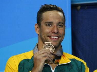Chad le Clos became the first male swimmer to win three consecutive Commonwealth Games medals in 200m. Reuters
