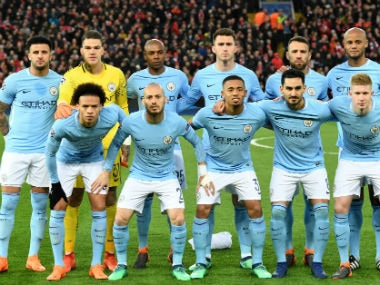 Premier League: Manchester City on brink of glory as they look to seal title with victory over arch-rivals United