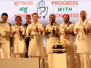 Congress makes tall promises in Karnataka poll manifesto, but questions on rural distress linger