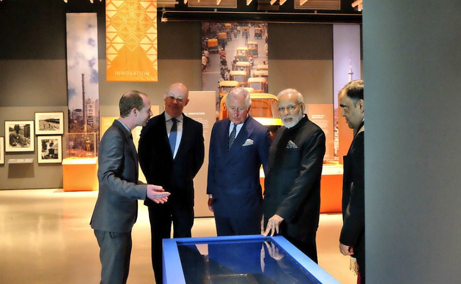 He also interacted with scientists and innovators based in the UK. Later, he garlanded the Basaveshwara statue on the banks of the river Thames, which Modi had inaugurated during his last visit to the UK in 2015.<br />Twitter@MEAIndia