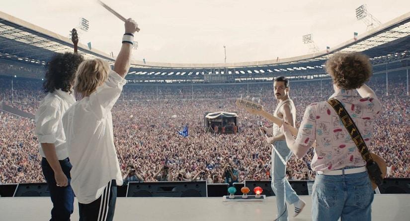 A still from Bohemian Rhapsody. 20th Century Fox