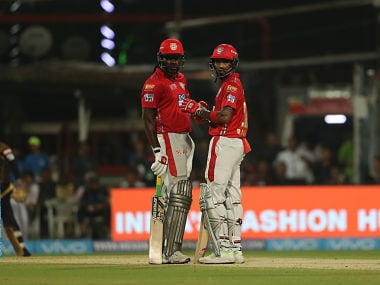 IPL 2018: KL Rahul, Chris Gayle star as Kings XI Punjab crush Kolkata Knight Riders in rain-truncated encounter