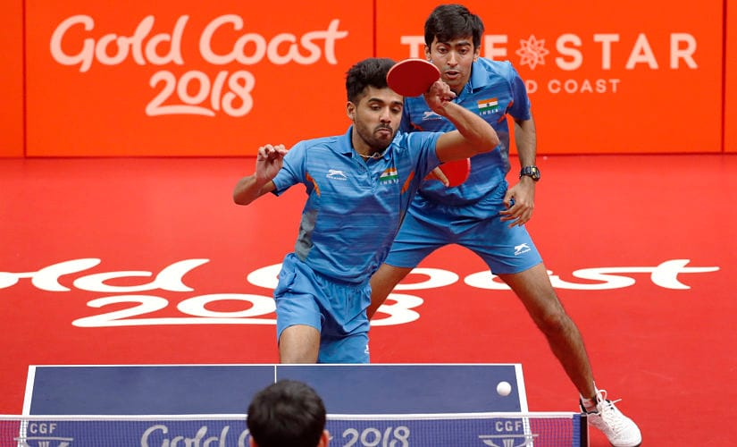 The Harmeet Desai-Sanil Shetty pair won bronze in mixed doubles. Reuters