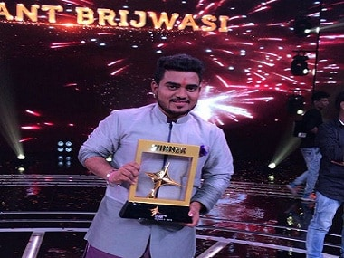 Sa Re Ga Ma Pa L'il Champs 2009 contestant Hemant Brijwasi wins singing reality show Rising Star 2