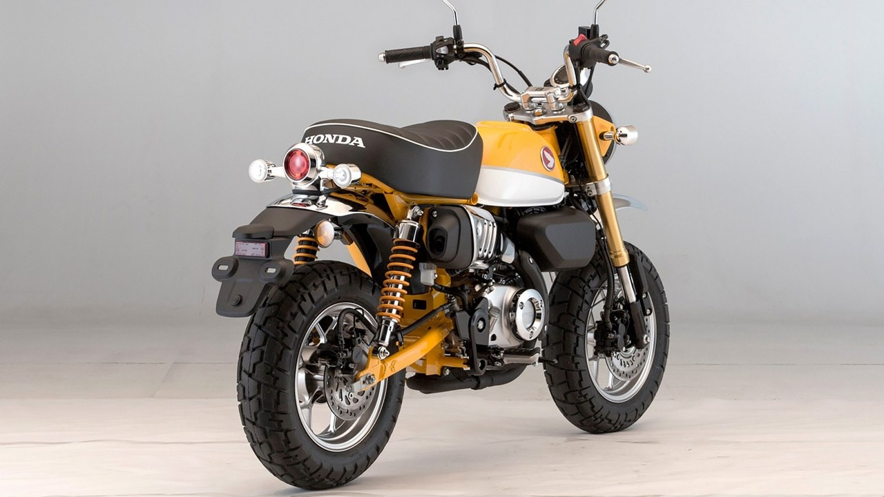 Hondas Modern Take To The Retro Monkey 125 Mini Bike Confirmed For Old Honda Bikes Original Had Been In Production Since 1967 And Was Powered By A 50cc Motor