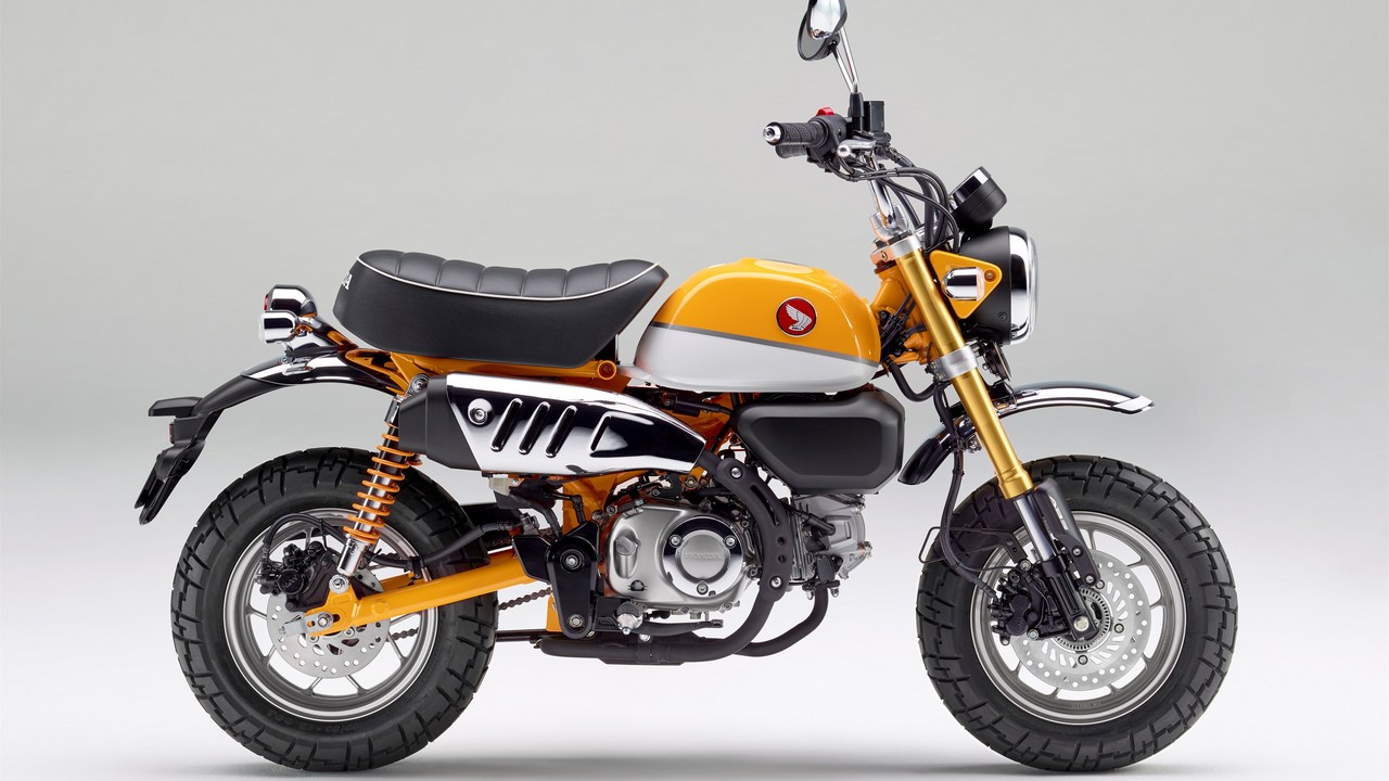 Honda\'s modern take to the retro Monkey 125 mini bike confirmed for ...