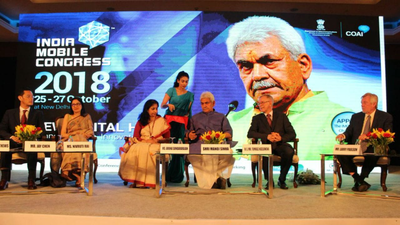India Mobile Congress 2018 to take place from 25-27 October in New Delhi-  Technology News, Firstpost