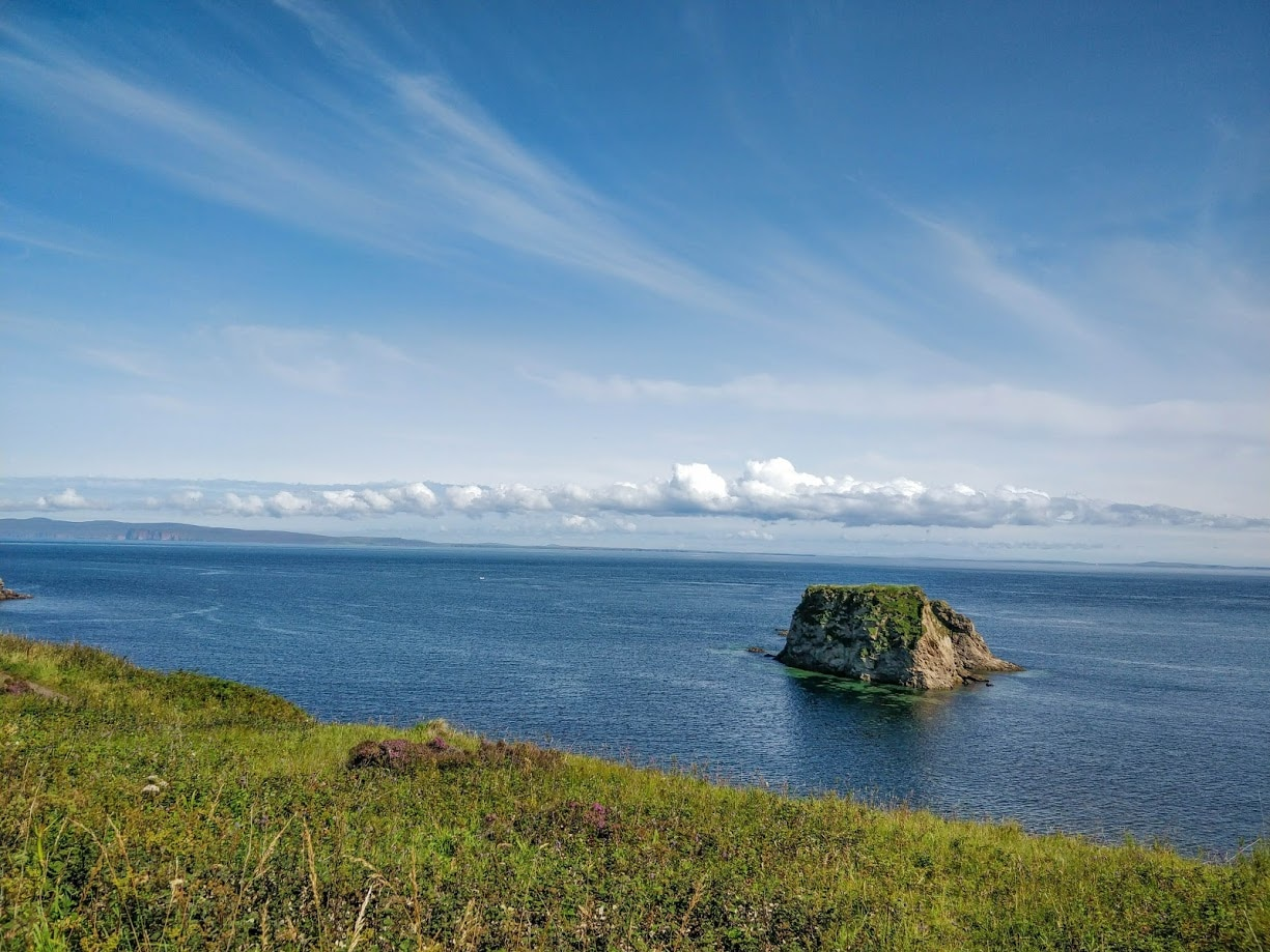 The view from Duncansby Head, the most northeasterly part of the British mainland.