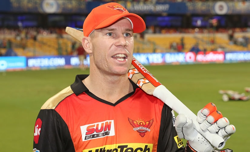 Sunrisers Hyderabad captain David Warner. Sportzpics