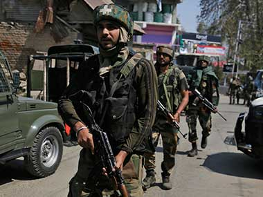 Two soldiers injured in encounter with militants in Jammu and Kashmirs Pulwama; operation underway