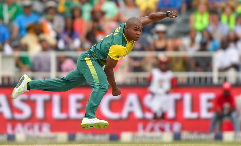 I had a lot of practice bowling to AB de Villiers in our domestic T20 so I always figured that if I could bowl to AB, I could bowl to anyone in the world. AFP