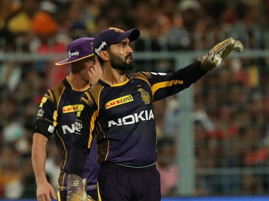 IPL 2018: Kolkata Knight Riders' captain Dinesh Karthik says Nitish Rana's 'silly' run-out cost them final spot