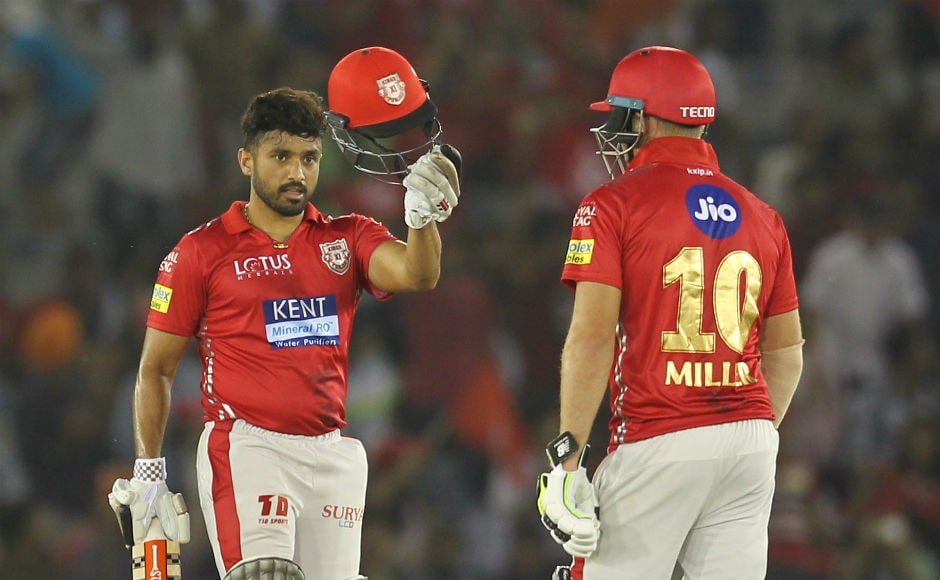 Karun Nair hit five 4s and two 6s during his 33-ball 50. Sportzpics