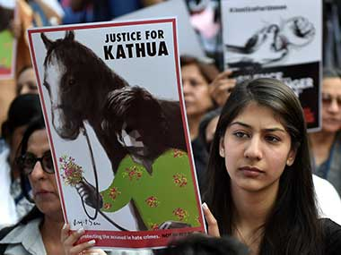 Kathua protests