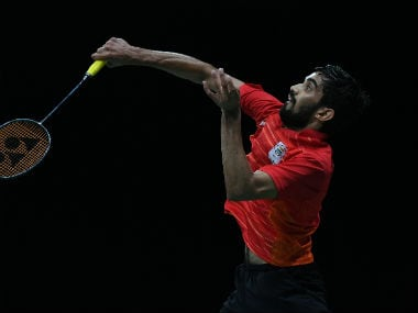Indian shuttler Kidambi Srikanth slips to third spot in latest BWF rankings; HS Prannoy falls to 13th place