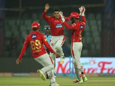 Kings XI Punjab prevailed over Delhi Daredevils in a nail biter in the IPL. Image Courtesy: SportsPicz